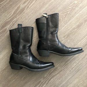 Harley Davidson Ladies Motorcycle/Cowboy Boots 7.5